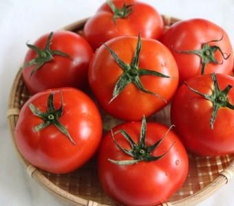 整顆紅撲撲的牛番茄